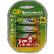 Gp Oplaadbare Batterij 4st 1300ma