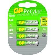 GP Oplaadbare Batterij Aaa 4st 850mA