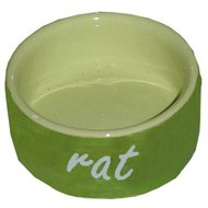 Tijssen Ratten Eetbak Steen Groen Groen 10cm