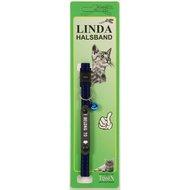 Linda Poezenbandje I belong to Blauw 10mm x 30cm
