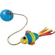 Pet stages Dangling Fish