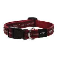 Rogz Scooter Halsband Heart Rood 16mm - 5/8