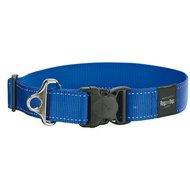Rogz Landing strip halsband Blauw 40mm - 1 5/8