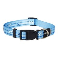 Rogz Yip Yap Yo Halsband Blauw 28-46cm