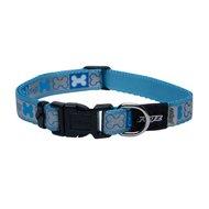 Rogz Reflecto Halsband Blauw
