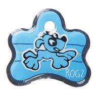 Rogz ID Tag Pupz Blauw S 31mm /1