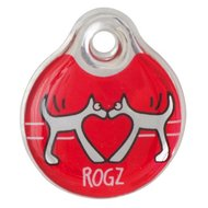 Rogz ID Tag Rood