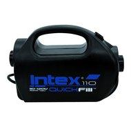 Intex Pumpe Quick Fill 12-230 Volt 400 l-min Schwarz