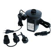 Camp Gear Luftpumpe 12-230 Volt und 230 l/Minute Schwarz