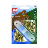 Prym Zeilringen 24 Stück 8mm