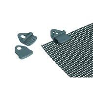 Camp Gear Vorzeltteppich-Clips 4 Stück Grau