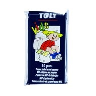 Toly Toilet Seat Saddle Pads For Children Multi 10 pieces