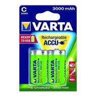 Varta C-Batterie aufladbar 2 Stück 1,2Volt