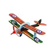 Agradi Flugzeug aus Tempex Mehrfarbig 24x7cm