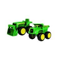 Britains John Deere zandbak kiepwagen & traktor