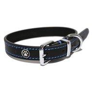 Halsband Hond Leer Luxe Zwart