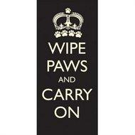Pet Rebellion Fußmatte Wipe Paws Carry On