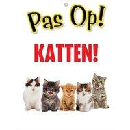 Agradi Wachschild Achtung! Katzen!