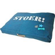 Lief! Hondenkussen Lounge Stoer Beige/Blauw