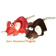 Jolly Moggy Cheeky Muis Assorti 23cm