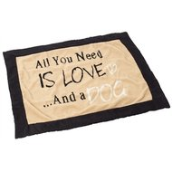 House Of Paws Hondendeken All You Need Is Love Bruin 120x100