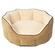 House Of Paws Hondenmand Ovaal Memory Foam Beige
