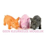 Doggy Dolittles Piggy Latex Zwijn Assorti 20cm