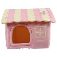 Petcomfort Honden/kattenhuis Dream Village Roze 57x48x49cm