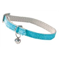 Bobby Kattenhalsband Glitter Licht Blauw 30x1cm