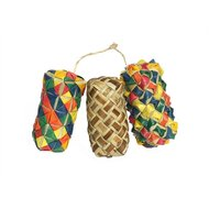 Rosewood Woven Wonders Cylinder Foot Toy 3x3x7cm