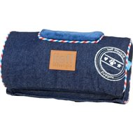 Lief! Comfort Kussen Houten Hondenmand Unisex Jeans 30x15cm