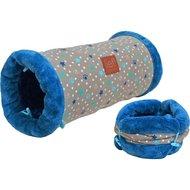 Lief! Speeltunnel Kat Boys Beige/Blauw 50cm