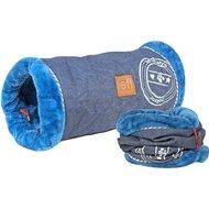 Lief! Speeltunnel Kat Unisex Jeans/Blauw 50cm