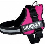 Julius K9 Power-harnas/tuig voor Labels Fuchsia