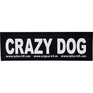 Julius K9 Labels Voor Power-harnas / Tuig Crazy Dog
