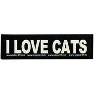 Julius K9 Labels Voor Power-harnas / Tuig I Love Cats