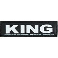 Julius K9 Labels Voor Power-harnas/Tuig King Small