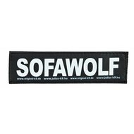 Julius K9 Labels Voor Power-harnas/Tuig Sofawolf Small