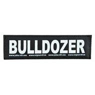 Julius K9 Labels Voor Power-harnas/Tuig Bulldozer Large