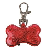Trixie Flasher Veiligheidslampje Bot Rood 4.5cmx3cm