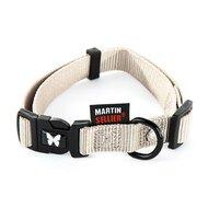 Martin Sellier Halsband Nylon Verstelbaar Grijs
