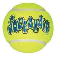 Kong Air Squeakair Tennisbal Geel