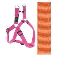 Rogz For Dogs Snake Step-in H Oranje 16mmx42-61cm