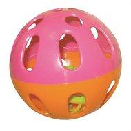 Happy Pet Knaagspeeltje Speelbal Plastic Assorti 9x9x9cm