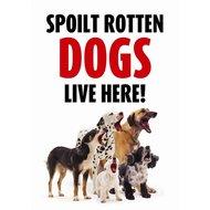 Agradi Wachschild Spoilt Rotten Dogs