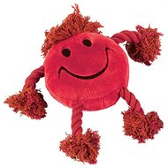 Happy Pet Happy Faces Pluche Smiley Rood 29x26x8cm
