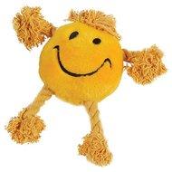 Happy Pet Happy Faces Pluche Smiley Geel 29x26x8cm