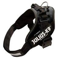 Julius K9 Power-harnas/tuig Voor Labels Zwart Maat