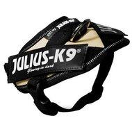 Julius K9 Power-harnas/tuig Voor Labels Beige