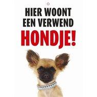 Agradi Wachschild NL Verwöhnter Hund